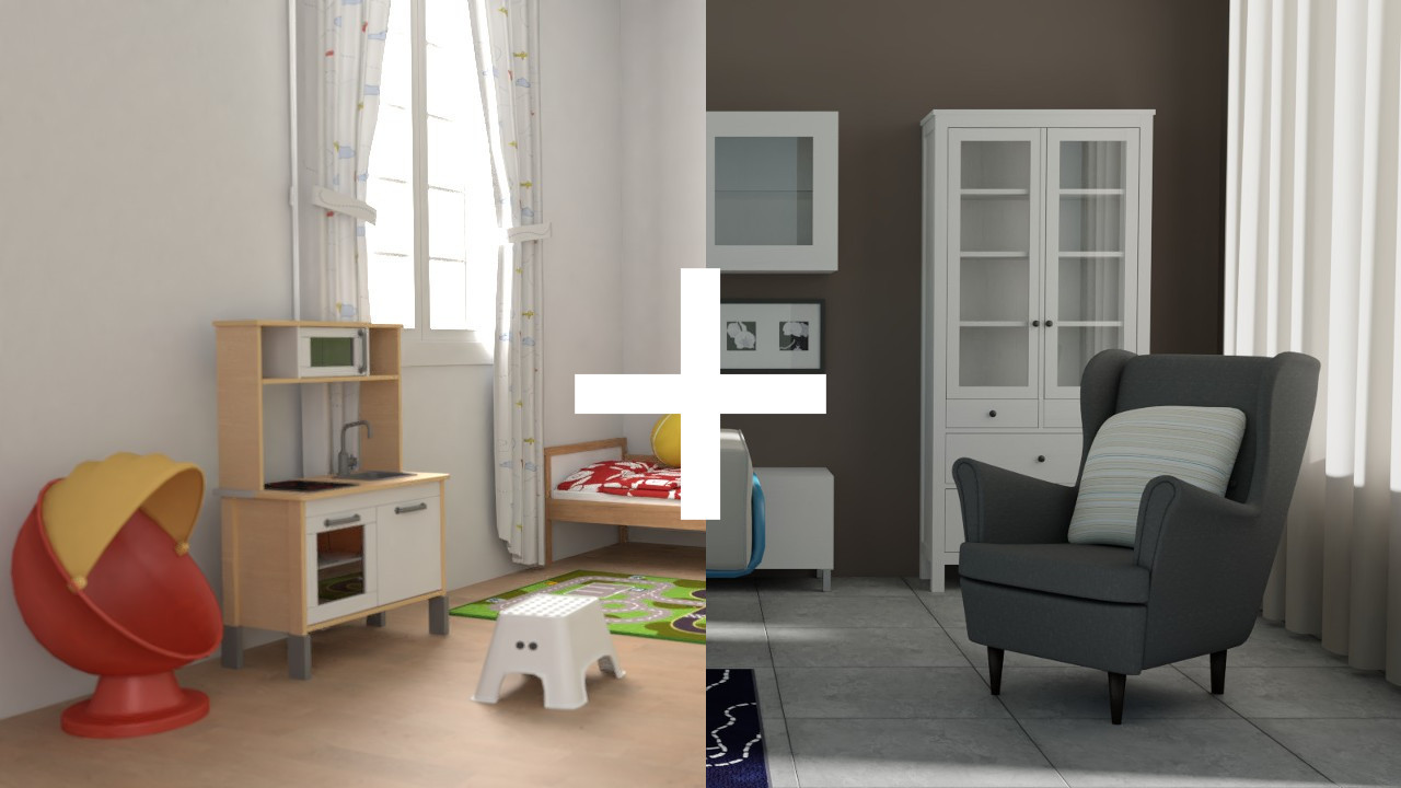IKEA Bundle 342 models for Sweet Home 3D