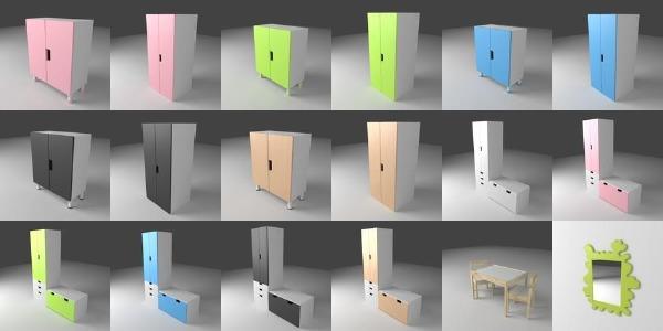 Ikea Bundle 342 Models 3deshop By Scopia