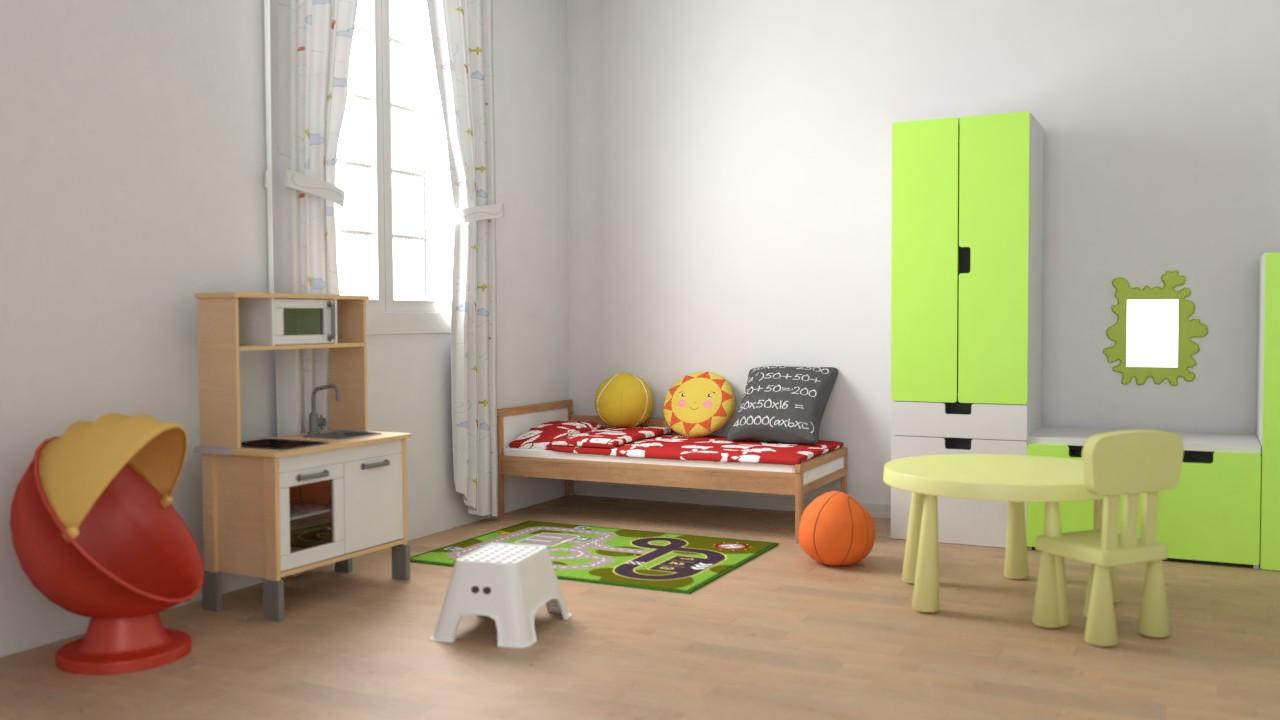 195 Children's IKEA models for Sweet Home 3D